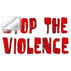 Stop The Violence Wall Decal